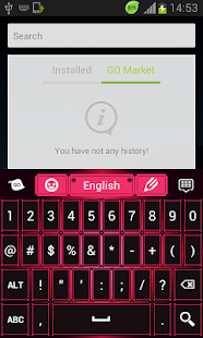 免費個人化App|粉紅色黑色鍵盤主題|阿達玩APP