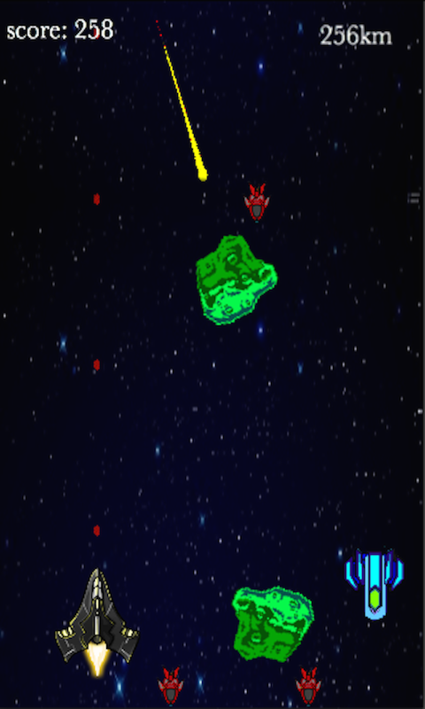 Cosmic Blast- screenshot