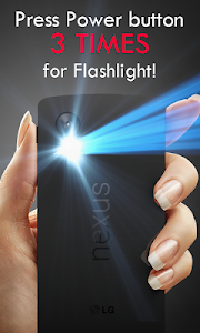 Power Button FlashLight /Torch v2.3.5