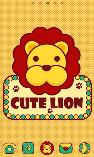 CuteLion GO Launcher Theme