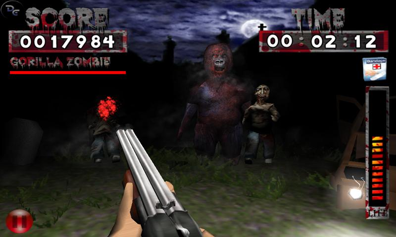 Ambush Zombie Free - screenshot