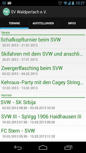 SV Waldperlach App