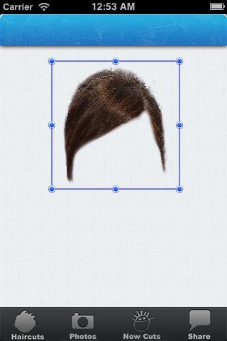 Mobile Hair Wizz- screenshot