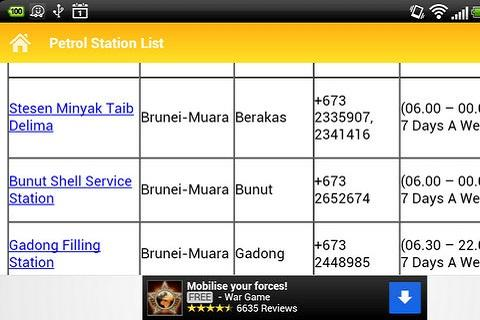 Brunei Petrol Station- screenshot