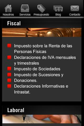 Asesoria Canales- screenshot