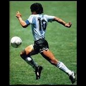 La botonera de Diego Maradona