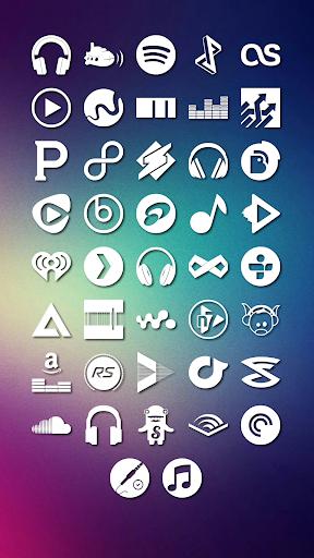 Media Icons Komponent
