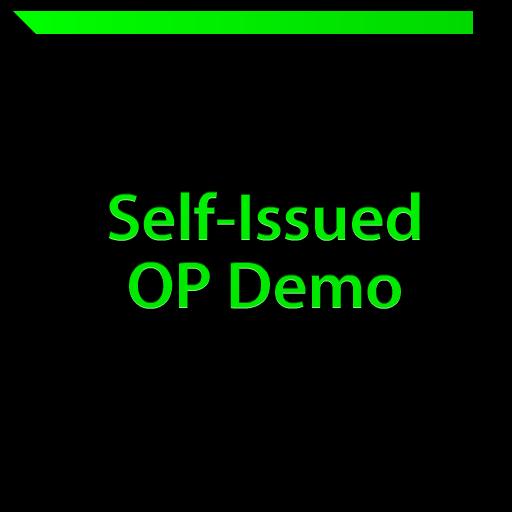 Self-Issued OP Demo LOGO-APP點子