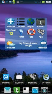My Fishing Journal Widget