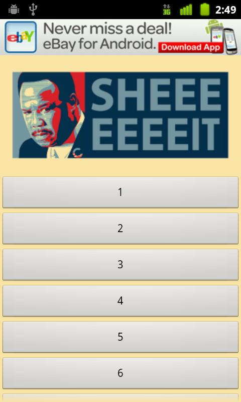 Clay Davis Soundboard Lite - screenshot