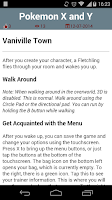 Screenshot of Guide for Pokemon X and Y