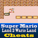 Super Mario Land 3 Cool Cheats logo