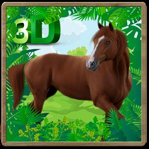 Wild Horse Jungle Simulator 3D for PC and MAC