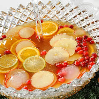 Christmas Rum Punch.