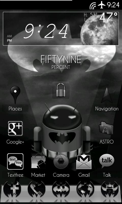 DarkGinger Theme CM7 (Donate) - screenshot