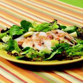 Spicy Chicken Apple Salad.