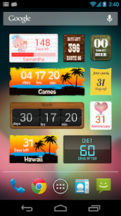 Countdown Widget - screenshot thumbnail