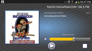 Screenshot of RADIO ENCARNACION 106.5 FM