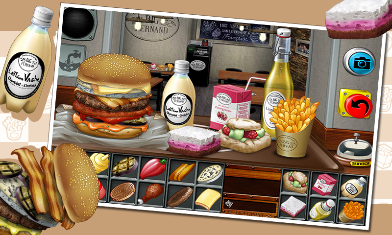 Burger - Big Fernand - screenshot