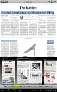 The Boston Globe ePaper - screenshot thumbnail