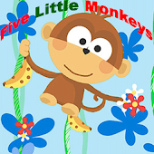 Five Little Monkeys Kids Rhyme