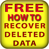Recover deleted data FREE