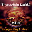 DarkMTRL ThyrusHolo CM11 Theme APK Cracked Download