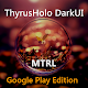 DarkMTRL ThyrusHolo CM11 Theme v1.5