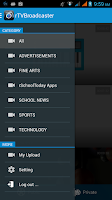 Screenshot of TV Broadcaster
