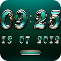 TRIQUA Digital Clock Widget