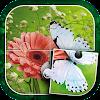 Schmetterling Puzzle-Spiel