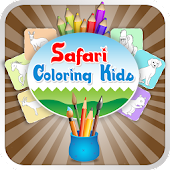 Safari Coloring Kids