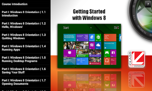 Training for Windows 8 screenshot 7