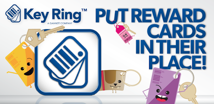 key ring reward cards app store