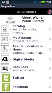 Ramapo Catskill Library System- screenshot thumbnail