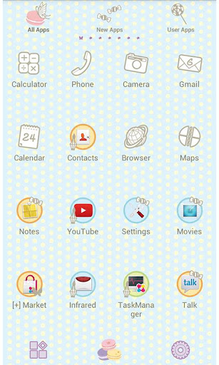 Cute Wallpaper Sweet Macaron 2.0.0 Windows u7528 2