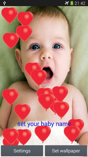 Cute Baby Live Wallpaper