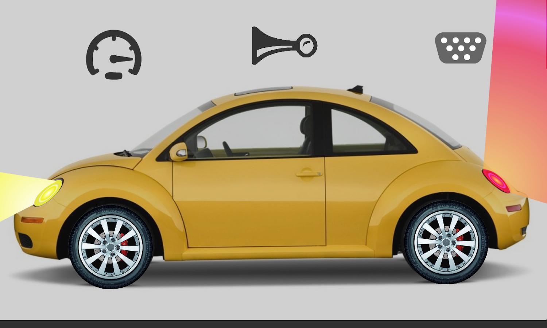 toddler kids car toy beetle screenshot