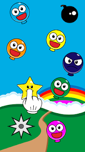 Pop Smiley Balloons - screenshot thumbnail