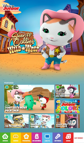 Android App Screenshot Disney Junior