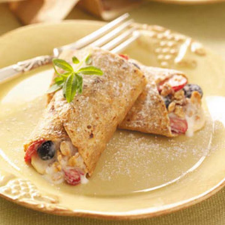 Fruit-Filled French Toast Wraps Recipe