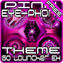 Pink EYE-Phone GO Launcher logo