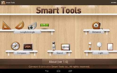 Smart Tools - boîte à outils - screenshot thumbnail
