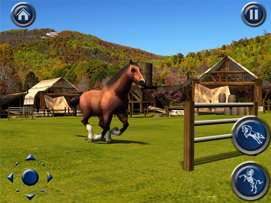 horse simulation games online