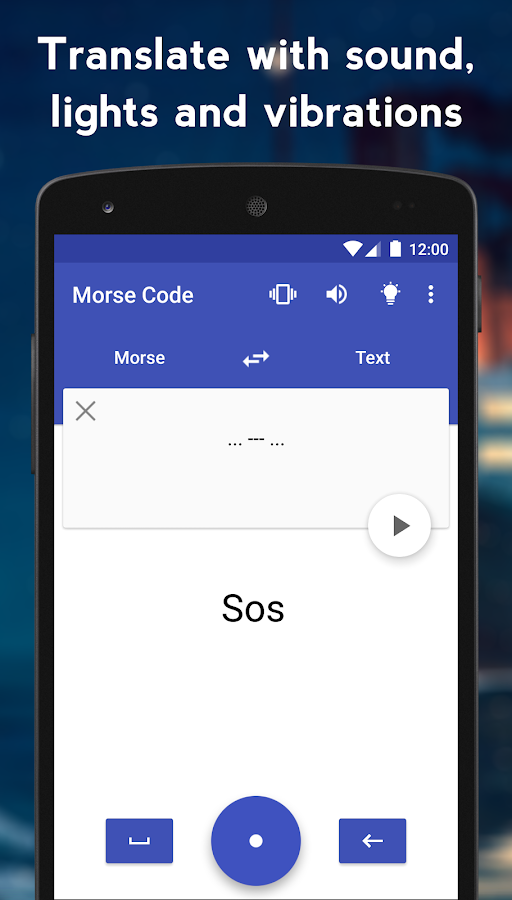 Morse Code Translator- screenshot