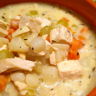 Creamy Chicken & Potato Soup