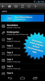 School Enews- screenshot thumbnail