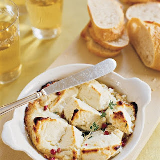Easy Goat Cheese Appetizer.