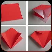 Origami planet