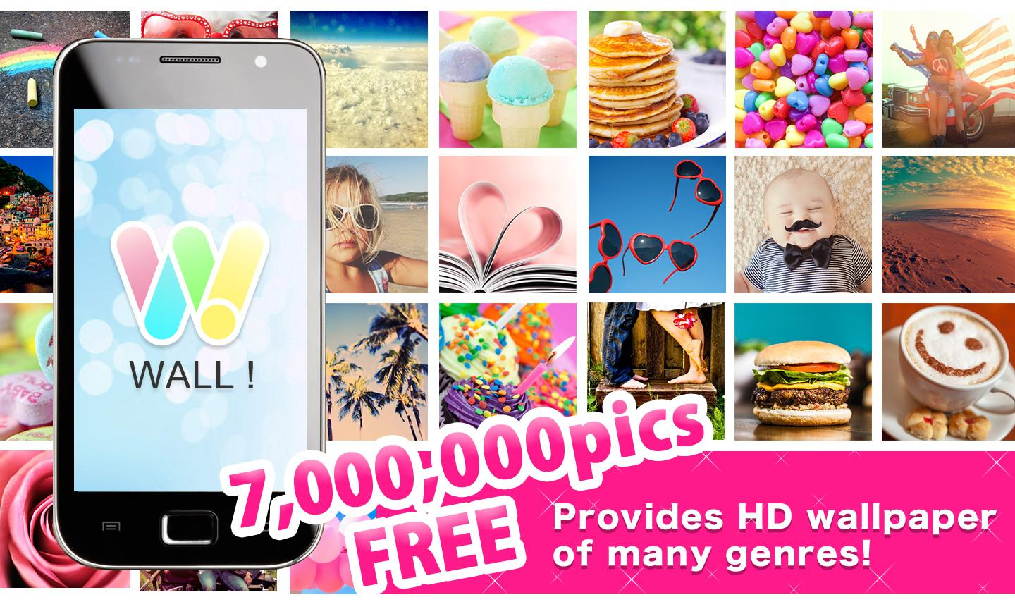 Wall free hd wallpapers android apps on google play for Picture on wall app